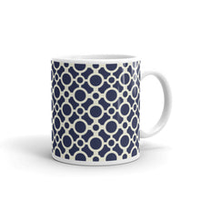 Load image into Gallery viewer, Mug - Tea cup - Circles - Blue