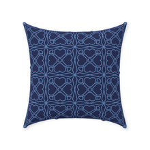 Load image into Gallery viewer, Throw Pillow - Trevo Azul
