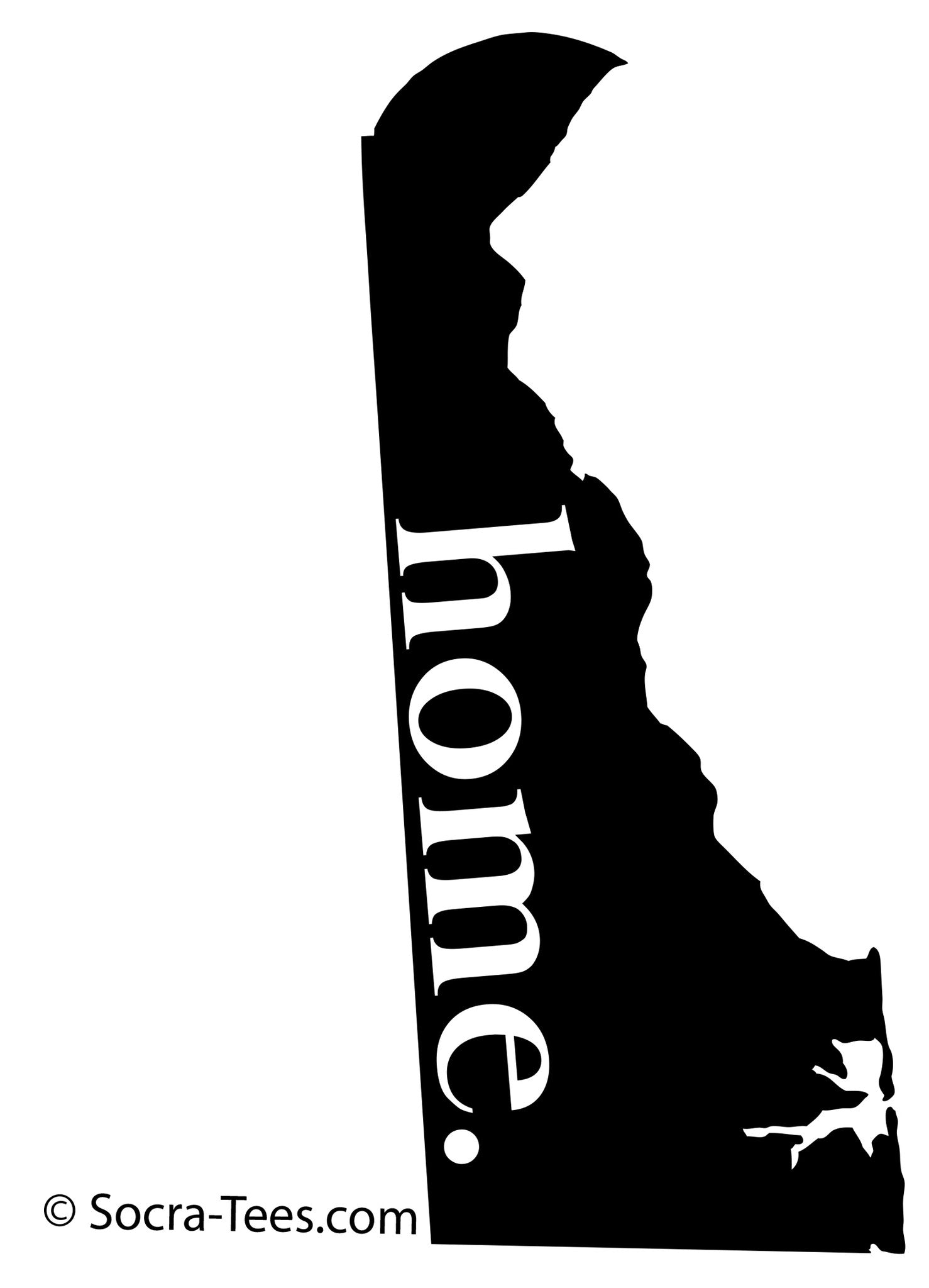 5 inch home decal in pink - Shipping Included