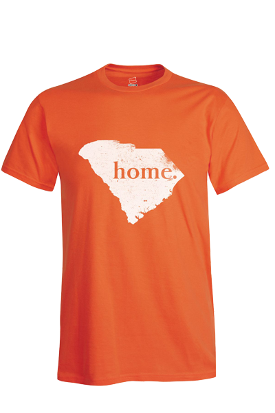 "SHIP NOW!!! Short Sleeve South Carolina ""home"" T - orange"