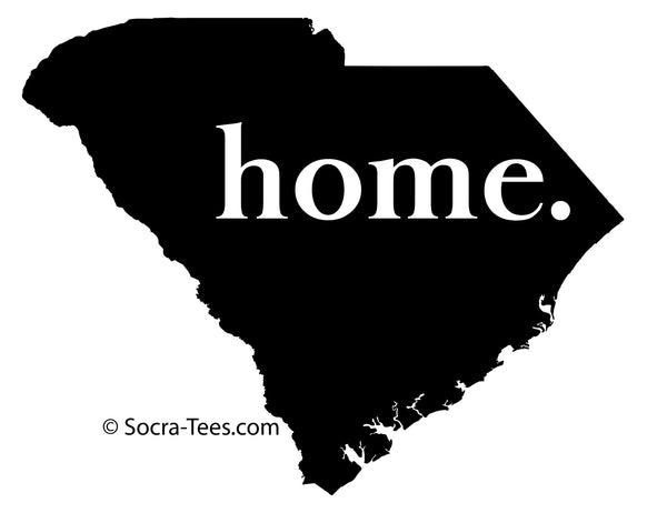 5 inch home decal in blue - Shipping Included
