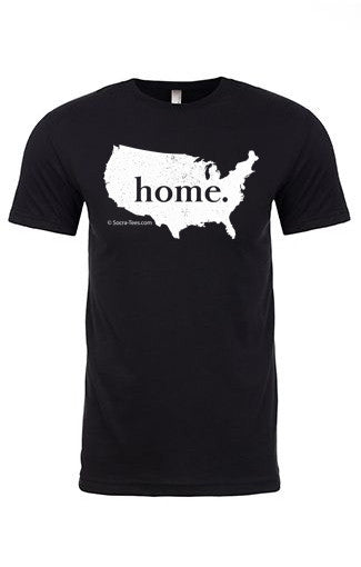 USA home tee - crew neck
