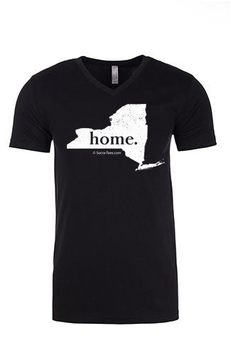 New York home tee - v neck