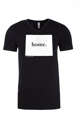 Wyoming home tee - v neck