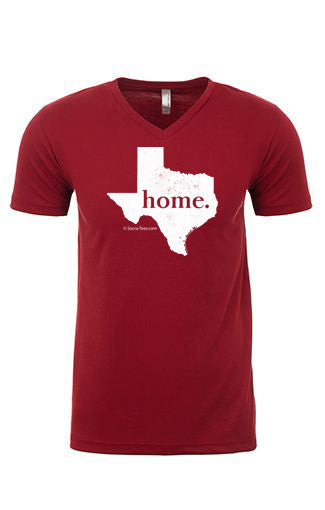 Texas home tee - v neck