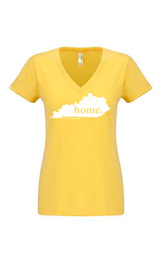 Kentucky home tshirt - Ladies v neck
