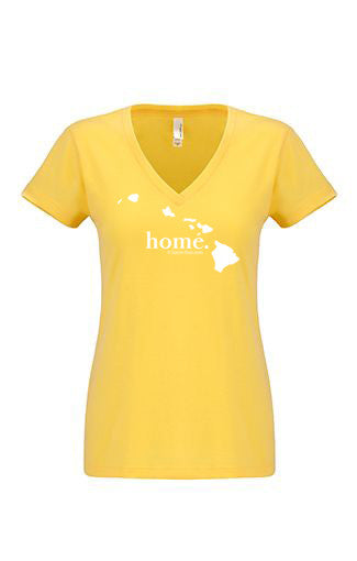 Hawai'i home tshirt - Ladies v neck