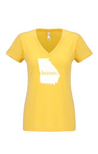 Georiga home tshirt - Ladies v neck