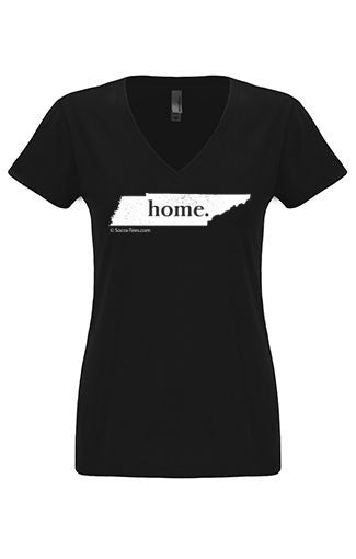 Tennessee home tshirt - Ladies v neck
