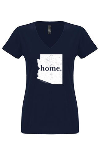 Arizona home tshirt - Ladies v neck