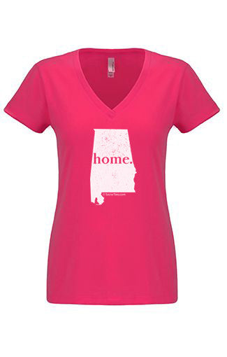 Alabama home tshirt - Ladies v neck