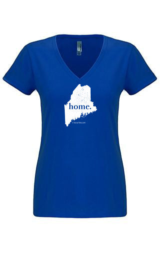 Maine home tshirt - Ladies v neck