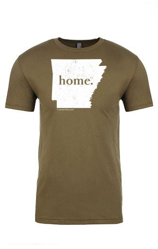 Arkansas home tee - crew neck