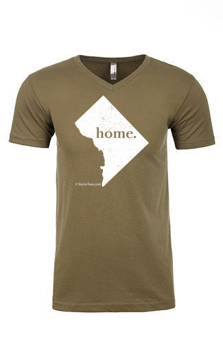 Washington DC home tee - v neck