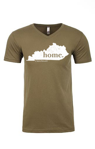 Kentucky home tee - v neck
