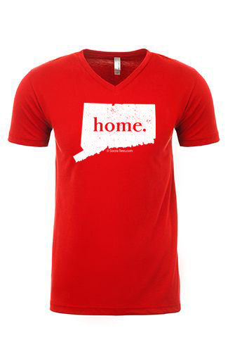Connecticut home tee - v neck