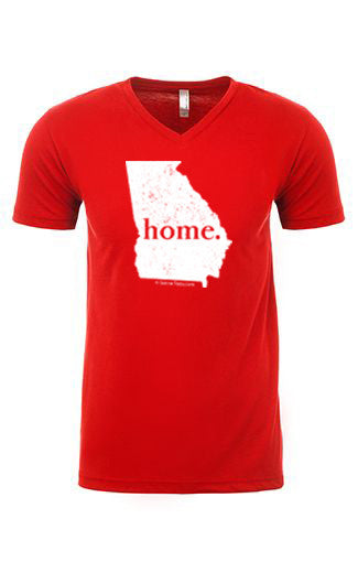 Georgia home tee - v neck