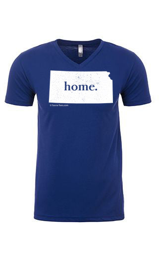 Kansas home tee - v neck