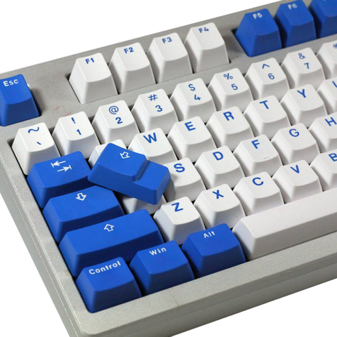 Vortex 104-Key PBT Double Shot Two-Tone Keycap Set