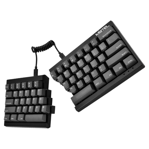 Mistel Barocco Black Split-able Cherry MX Mechanical Keyboard