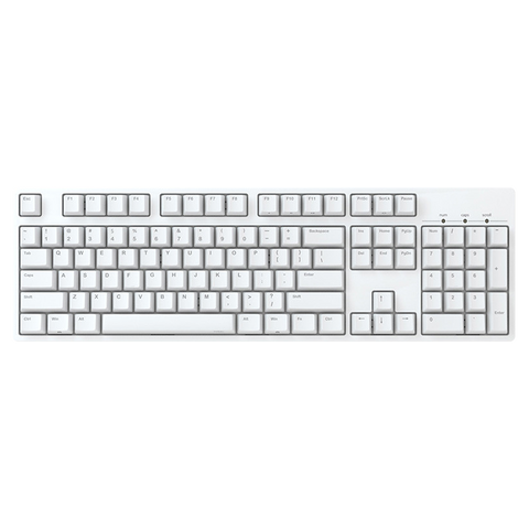 IKBC C104 White Cherry MX Mechanical Keyboard