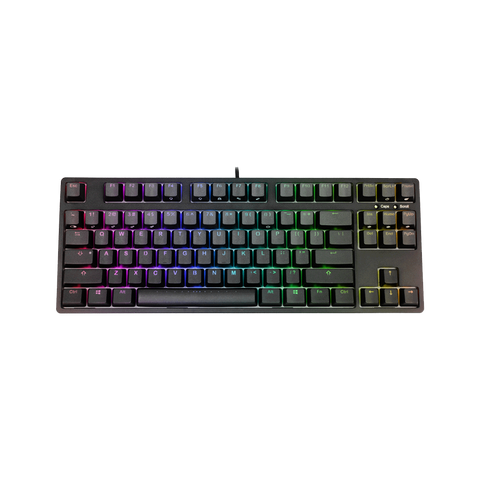 IKBC F87 Black RGB Cherry MX Mechanical Keyboard
