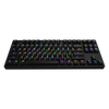 IKBC F87 RGB Cherry MX Mechanical Keyboard (Black/White Frame)