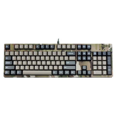 Filco Majestouch 2 Camouflage R Mechanical Keyboard - Cherry MX Brown