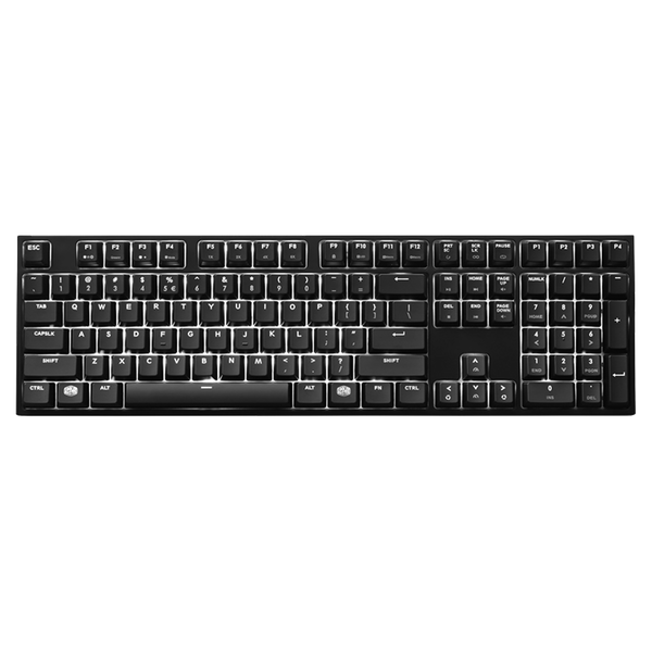 Cooler Master MasterKeys Pro L White LED Mechanical Keyboard
