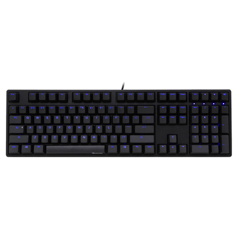 Ducky One Blue LED Cherry MX Mechanical Keyboard