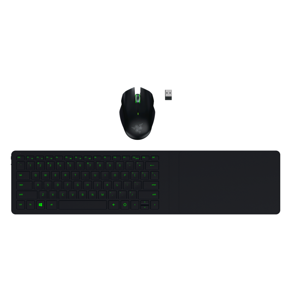 Razer Turret Living Room Gaming Mouse And Lapboard