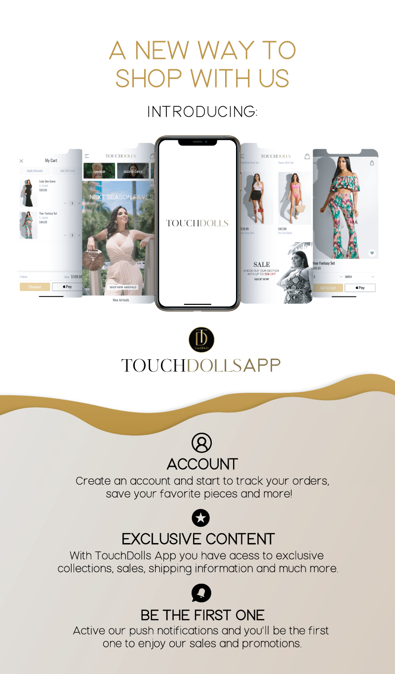 Introducing Touchdolls APP