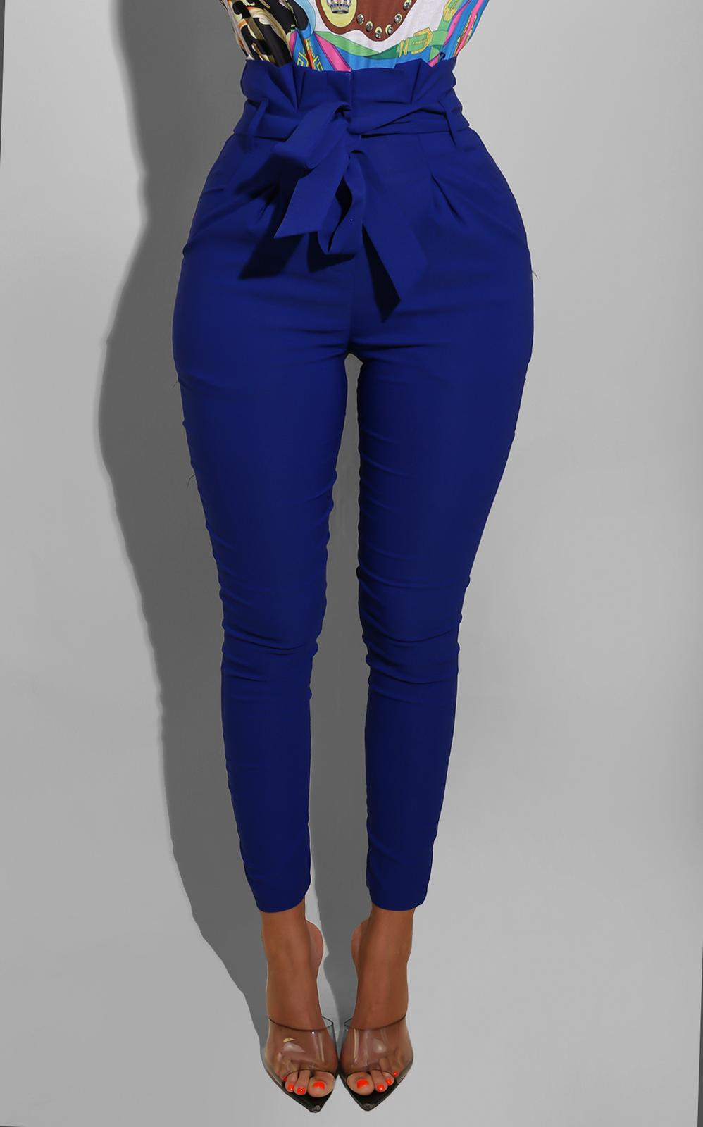 Blue Bow Trouser