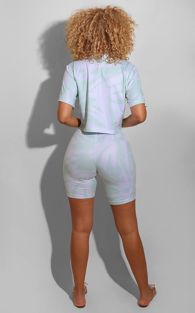 Soft Tie Dye Set Mint