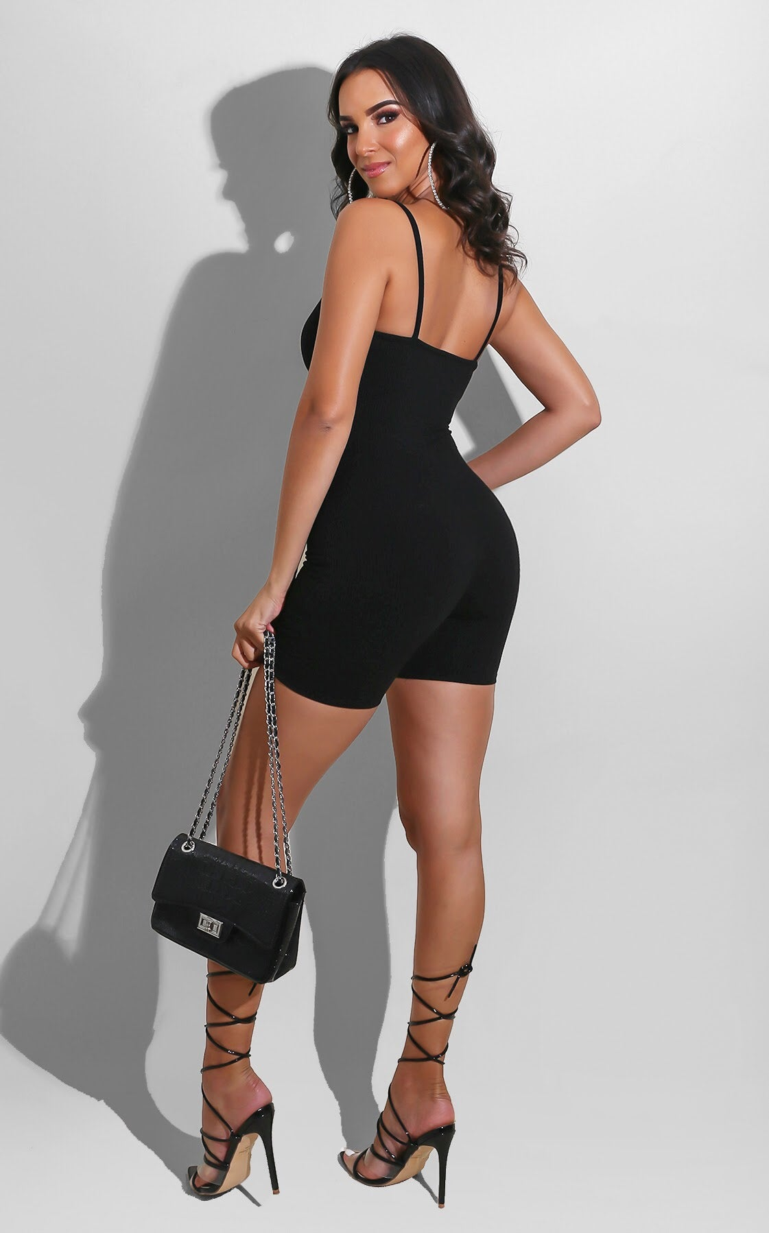 Easy to be Sexy Romper Black