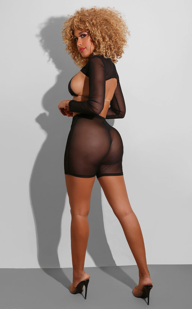 Click It Mesh Set Black