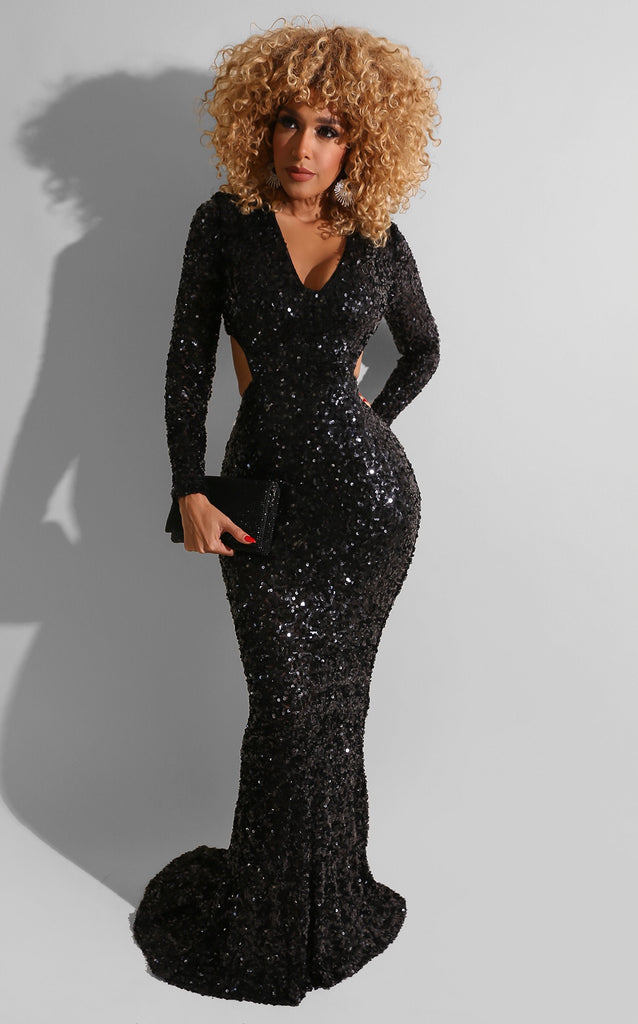 Apollo Sequin Gown