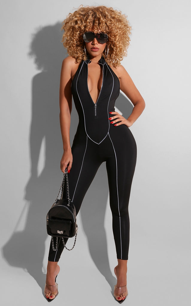 Reflect the Lines Jumpsuit