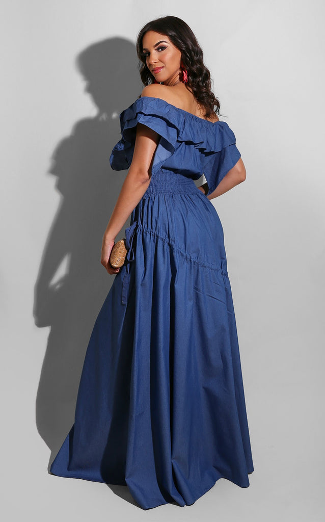 Emma Denim Maxi