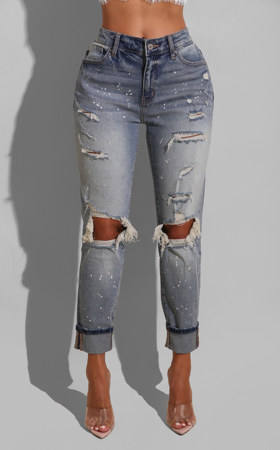 Carpenter's Ripped Denim