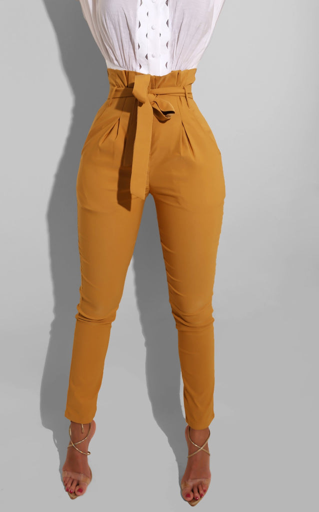 Such A Doll Trousers Mustard