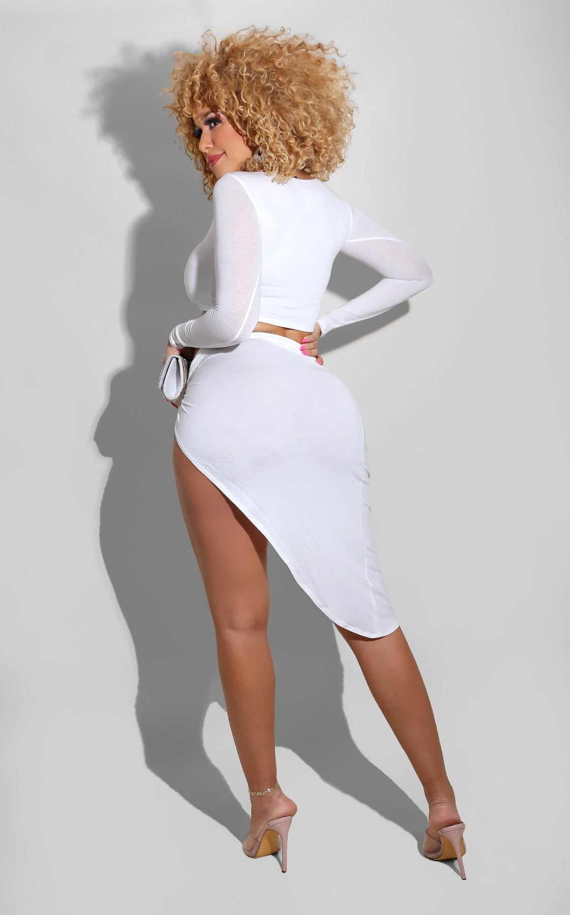 High Slit Set White