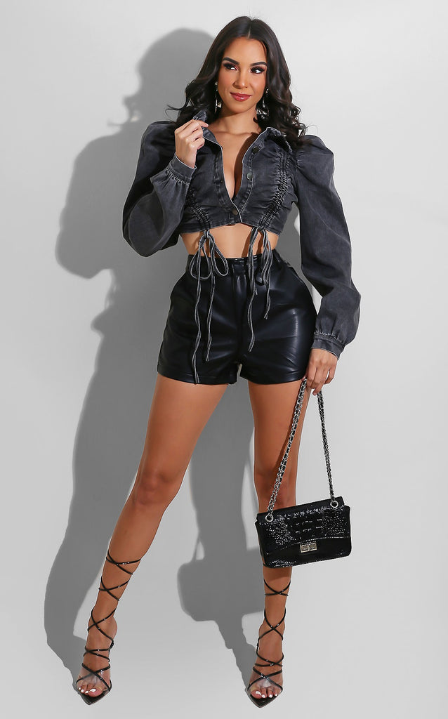 Leather Season Shorts