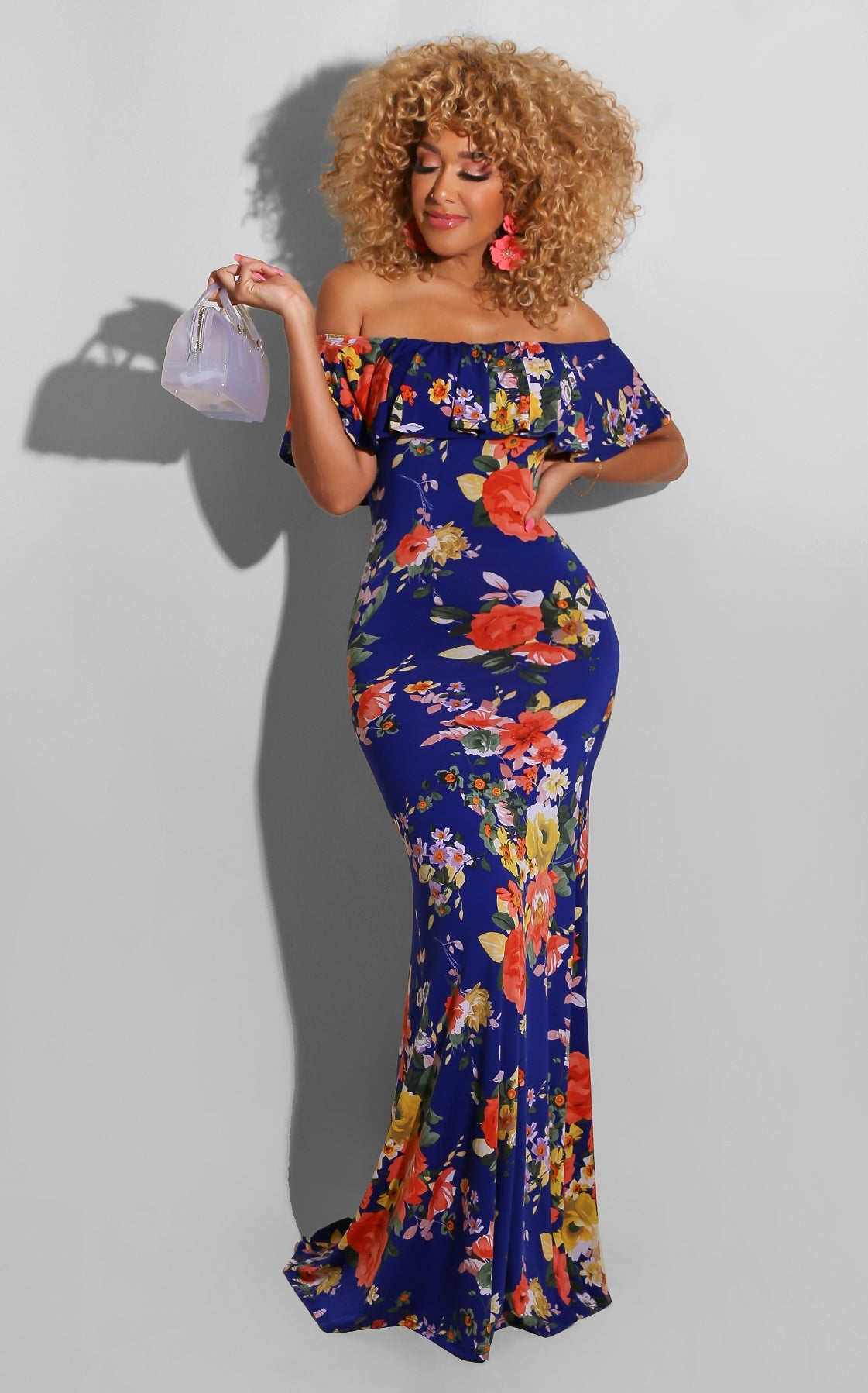 Lady By The Garden Maxi