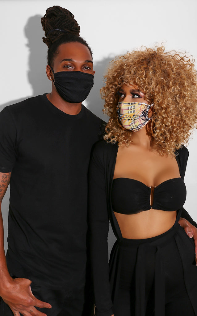 Black Out Face Mask