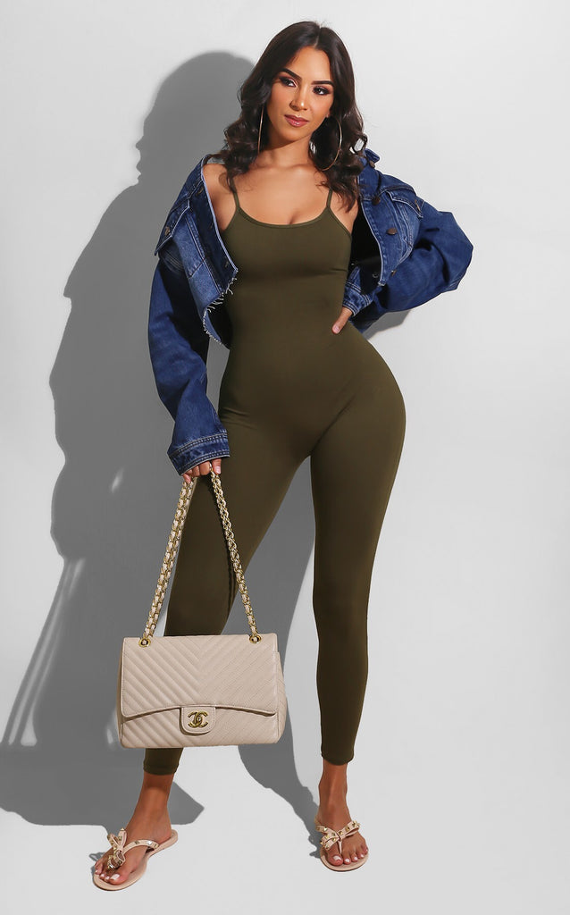 Easy Breeze Catsuit Hunter Green