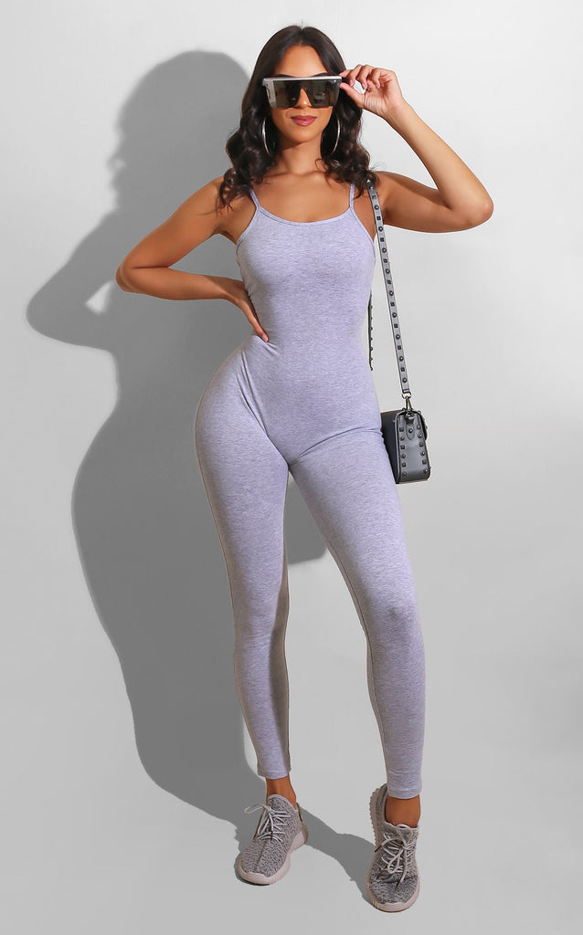 Easy Breeze Catsuit Grey