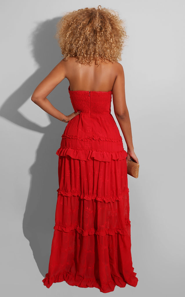 Magical Spring Gown Red