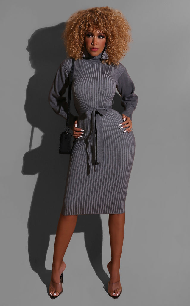 Hold Hands Sweater Dress