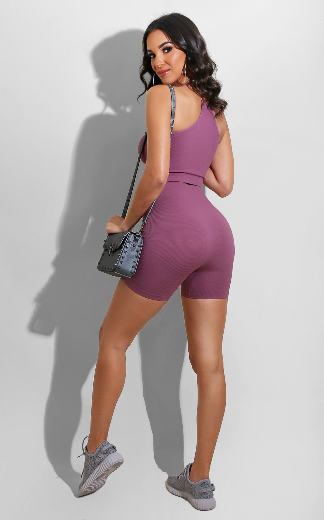 Seamless Shape Set Mauve